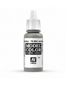 MODEL COLOR  Natural Steel - colore acrilico 17 ml
