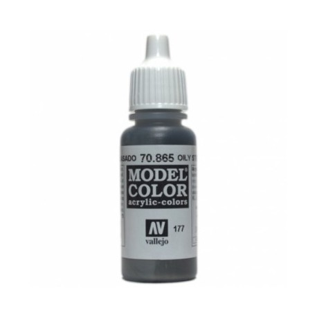 MODEL COLOR  Oily Steel - colore acrilico 17 ml