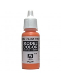 MODEL COLOR  Bright Orange - colore acrilico 17 ml