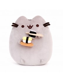 PUSHEEN THE CAT  PELUCHE WITH SUSHI
