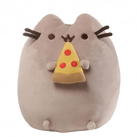 PUSHEEN THE CAT  PELUCHE WITH PIZZA