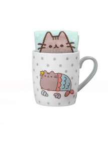 PUSHEEN THE CAT  TAZZA CON CALZINI