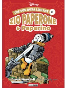 DON ROSA LIBRARY (THE)  8 ZIO PAPERONE & PAPERINO