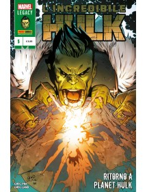 HULK  5 L'INCREDIBILE HULK - RITORNO A PLANET HULK