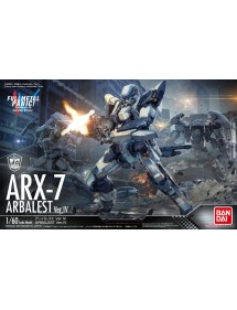 FULL METAL PANIC! INVISIBLE VICTORY SCALA 1/60  ARX-7 ARBALEST VER.IV