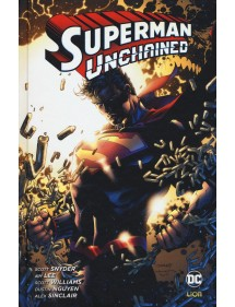 SUPERMAN UNCHAINED  VOLUME UNICO EDIZIONE BROSSURATA