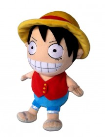 ONE PIECE  LUFFY PELUCHES 25CM