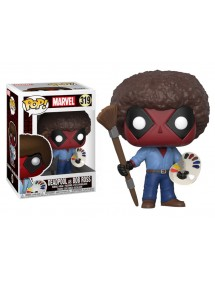 POP MARVEL  319 DEADPOOL AS BOB ROSS