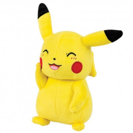 POKEMON  PELUCHES PIKACHU SMILING 20CM