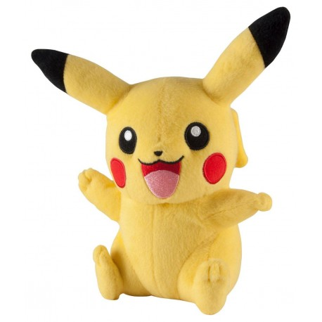 POKEMON  PELUCHES PIKACHU WAVING 20CM