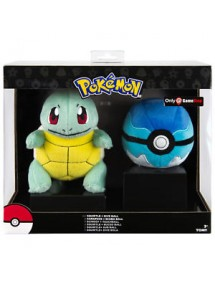 POKEMON  PELUCHES SQUIRTLE CON POKE BALL