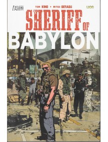 SHERIFF OF BABYLON  VOLUME UNICO EDIZIONE BROSSURATA