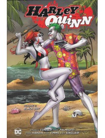 HARLEY QUINN NEW 52 LIMITED 2 BLACK OUT EDIZIONE BROSSURATA