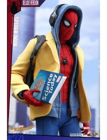 HOT TOYS  SPIDER-MAN HOMECOMING MOVIE MASTERPIECE DELUXE VERSION