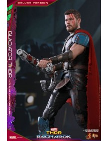 HOT TOYS  THOR RAGNAROCK MOVIE MASTERPIECE GLADIATOR THOR DELUXE VER.