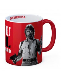 TAZZA  CHUCK NORRIS SEE YOU IN HELL