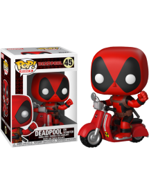 POP RIDES  48 DEADPOOL ON SCOOTER