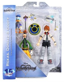 DISNEY SELECT  15 TH ANNIVERSARY KINGDOM HEARTS ROXAS - DONALD & GOOFY