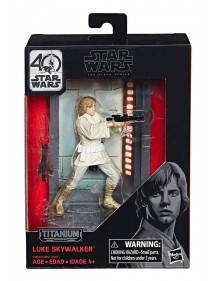 STAR WARS THE BLACK SERIES  TITANIUM DIECAST 2017 WAVE  - LUKE SKYWALKER