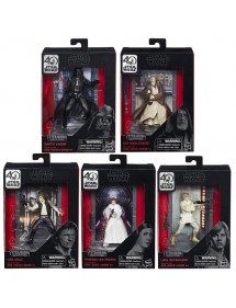 STAR WARS THE BLACK SERIES  TITANIUM DIECAST 2017 WAVE  -ASSORTIMENTO 5 PERSONAGGI
