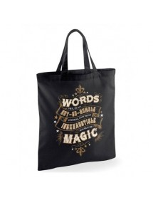 HARRY POTTER  SHOPPING BAG WORDS OF MAGIC