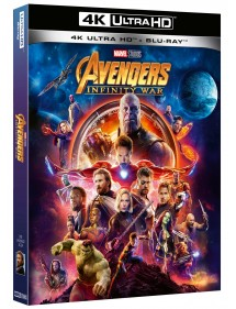 AVENGERS INFINITY WAR  BLU-RAY 4K ULTRA HD