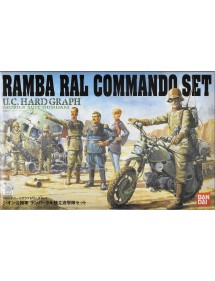 U.C.HARD GRAPH  RAMBA RAL COMMANDO SET