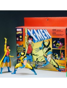 ARTFX + STATUE  TWO PACK - WOLVERINE & JUBILEE (X-MEN 1992)