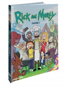 RICK AND MORTY  STAGIONE 2 (2DVD)