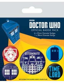SPILLE PACK  DOCTOR WHO - EXTERMINATE