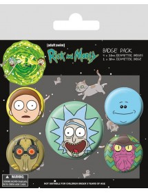 SPILLE PACK  RICK AND MORTY