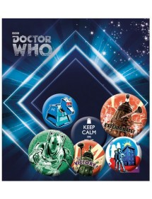 SPILLE PACK  DOCTOR WHO - RETRO'