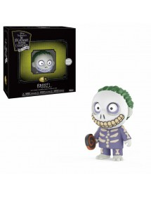 NIGHTMARE BEFORE CHRISTMAS  VINYL FIGURE 9CM - JACK SKELLINGTON/BARREL