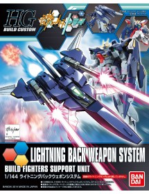 HG GUNDAM BUILD CUSTOM HIGH GRADE SCALA 1/144 15 LIGHTNING BACK WEAPON SYSTEM