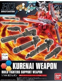 HG GUNDAM BUILD CUSTOM HIGH GRADE SCALA 1/144 18 KURENAI WEAPON