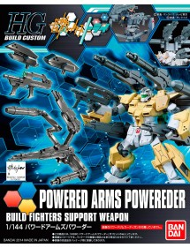 HG GUNDAM BUILD CUSTOM HIGH GRADE SCALA 1/144 14 POWERED ARMS POWEREDER