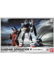 HG GUNDAM UNIVERSAL CENTURY SCALA 1:144 GUNDAM OPERATION V SET