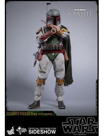 HOT TOYS  STAR WARS EPISODE V - BOBA FETT DELUXE VERSION