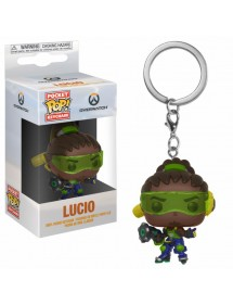 POP POCKET KEYCHAIN  OVERWATCH - LUCIO