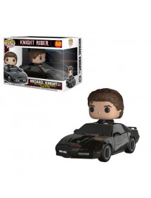 POP RIDES  50 KNIGHT RIDER - MICHAEL KNIGHT WITH KITT