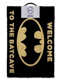 ZERBINO - DOOR MAT - TAPPETO  BATMAN WELLCOME TO THE BATCAVE