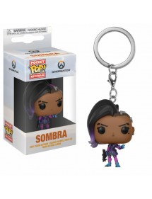 POP POCKET KEYCHAIN  OVERWATCH - SOMBRA