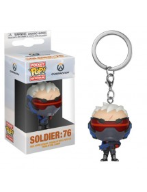 POP POCKET KEYCHAIN  OVERWATCH - SOLDIER:76