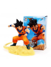 DRAGON BALL Z PURE HEART  GOKU ON KINTO-UN