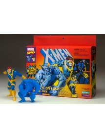 ARTFX + STATUE  TWO PACK - X-MEN '92 CYCLOPS & BEAST