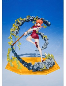 ONE PIECE FIGUARTS ZERO  NAMI BLACK BALL