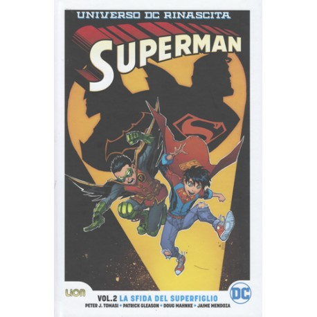 SUPERMAN RINASCITA COLLECTION  2 ULTRALIMITED LA SFIDA DEL SUPERFIGLIO