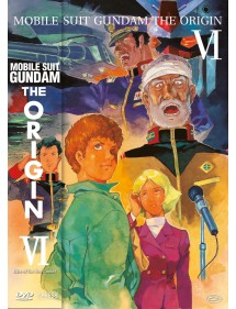 MOBILE SUIT GUNDAM THE ORIGIN  6 DVD
