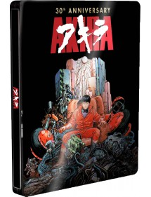 AKIRA  30TH ANNIVERSARY STEELBOOK (BLU-RAY+DVD)