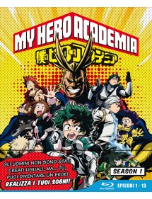 MY HERO ACADEMIA  STAGIONE 1 BLU-RAY